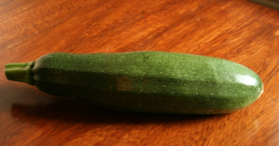 photo: home grown zucchini